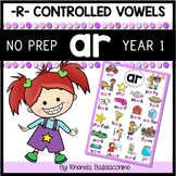 'AR' Worksheets and Activities ~ NO PREP