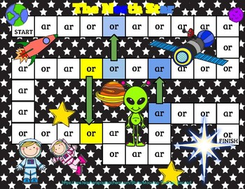 ar and or -- R-Controlled Vowel games