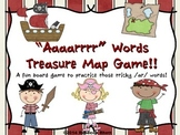 "ar words - ""Aaaarrrr"" Words Treasure Map Game"