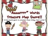 """ar words - """"Aaaarrrr"""" Words Treasure Map Game"""