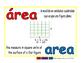 area/area geom 1-way blue/rojo