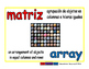 array/matriz prim 1-way blue/rojo