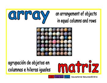array/matriz prim 1-way blue/rojo