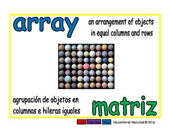 array/matriz prim 1-way blue/verde