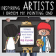 art CHALK - Classroom Decor: MEDIUM BANNER, I Dream My Painting Then I Paint My
