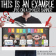 art CHALK {melonheadz} - Classroom Decor: LARGE BANNER, In Our Class - BOLD