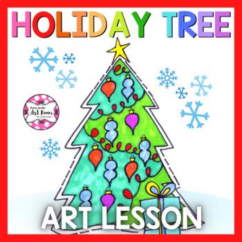 Holiday Art Lesson: Holiday Tree (Emergency Sub Plans)