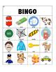 articulation bingo /g, k/