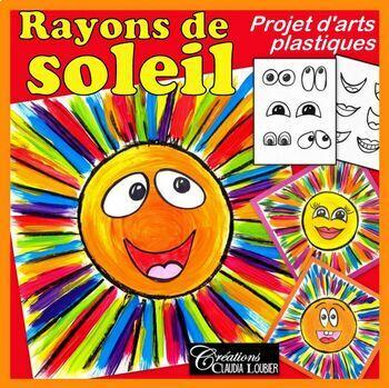 Arts plastiques: Été, rayon de soleil, mélanges de couleur