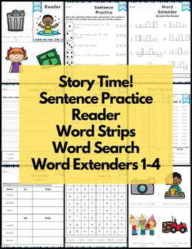 ash Word Family Word Work and Activities - Short A