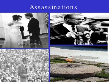 assassinations 1960 to 1970