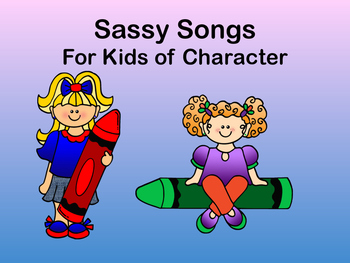 Sassy Songs - Honesty- Learning Life Principles and Character Education