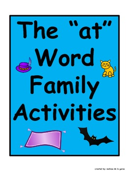 """at"" Word Family Activities"