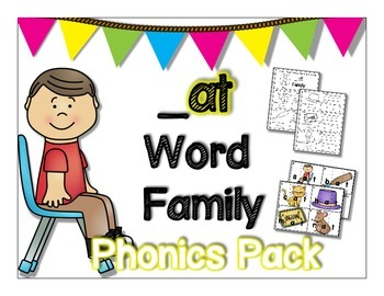 at Word Family Phonics Pack