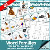 Word Families - at