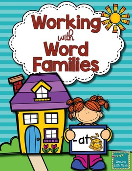 Word Family activities- at