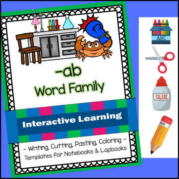 ab Word family - Complete Interactive Learning