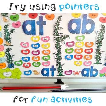 at and ab Word Family Bulletin Board Decor