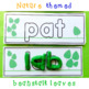 at and ab Word Family Playdough Word Cards Activity