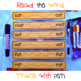 at and ab Word Family Trace And Read Strips Activity