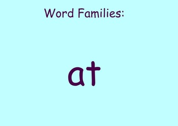 at blend/word family