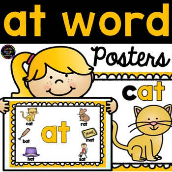 at word family posters