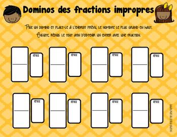 atelier sur les fractions impropres