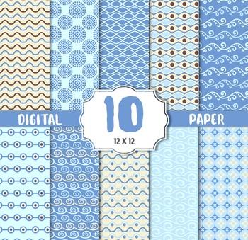 ater textur Digital Papers, Bubble, Sea, Wave Digital Paper
