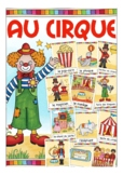 au CIRQUE - French flash / picture cards (circus vocabular