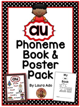 au Phonogram Book & Poster Pack with Phonics Practice