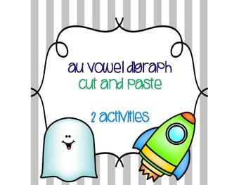 au Vowel Digraph Cut and Paste