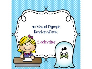au Vowel Digraph Read-and-Draw