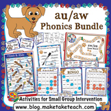 au aw Activities - The Big Phonics Box