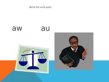 au, aw varient vowel