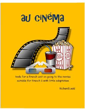 au cinéma tools for FRENCH unit