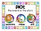 author, illustrator and story elements mini posters
