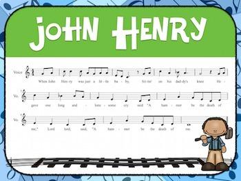 Favorite Folk Song – John Henry Teacher Kit