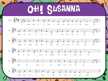 Favorite Folk Song – Oh! Susanna Teacher Kit