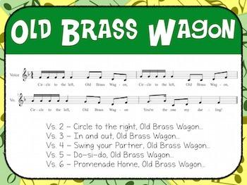 Favorite Folk Song – Old Brass Wagon Teacher Kit