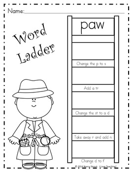 Word Detective ~ aw Sound Activities