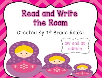 aw and au Read and Write the Room
