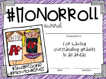 #awardsday Hashtag End of Year Awards for the 21st century kid!