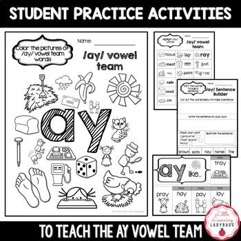 /ay/ Vowel Team Pack