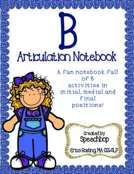 /b/ Articulation Notebook!