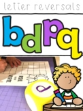 b and d Letter Reverals Posters and Activities