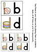 b and d Letter Reversal Visuals