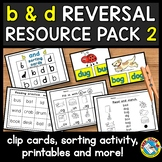 b and d REVERSAL WORKSHEETS AND ACTIVITIES (DYSLEXIA RESOURCES)