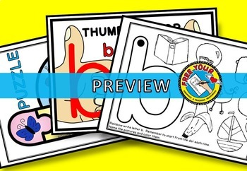 b and d REVERSAL PACK: B AND D LETTER ACTIVITIES: LETTER REVERSAL PACK
