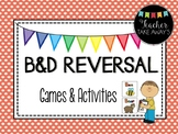 b and d Reversal Activity and Games