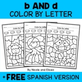 b and d Reversal Color by Letter